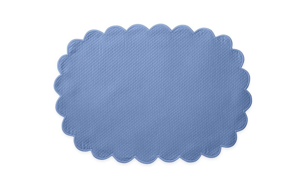 Matouk Savannah Gardens Placemats in Azure