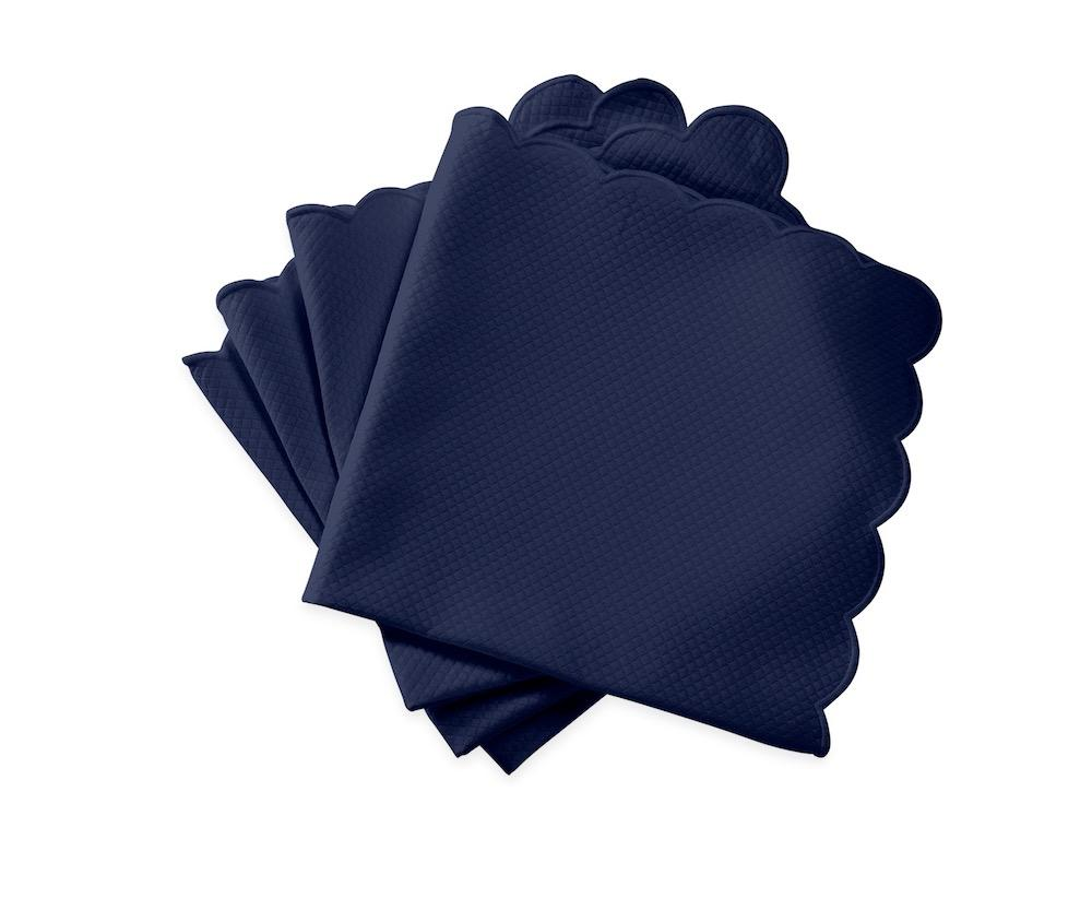 Matouk Savannah Gardens Napkins in Navy