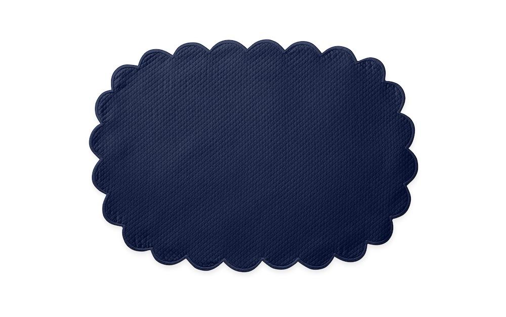 Matouk Savannah Gardens Placemats in Navy