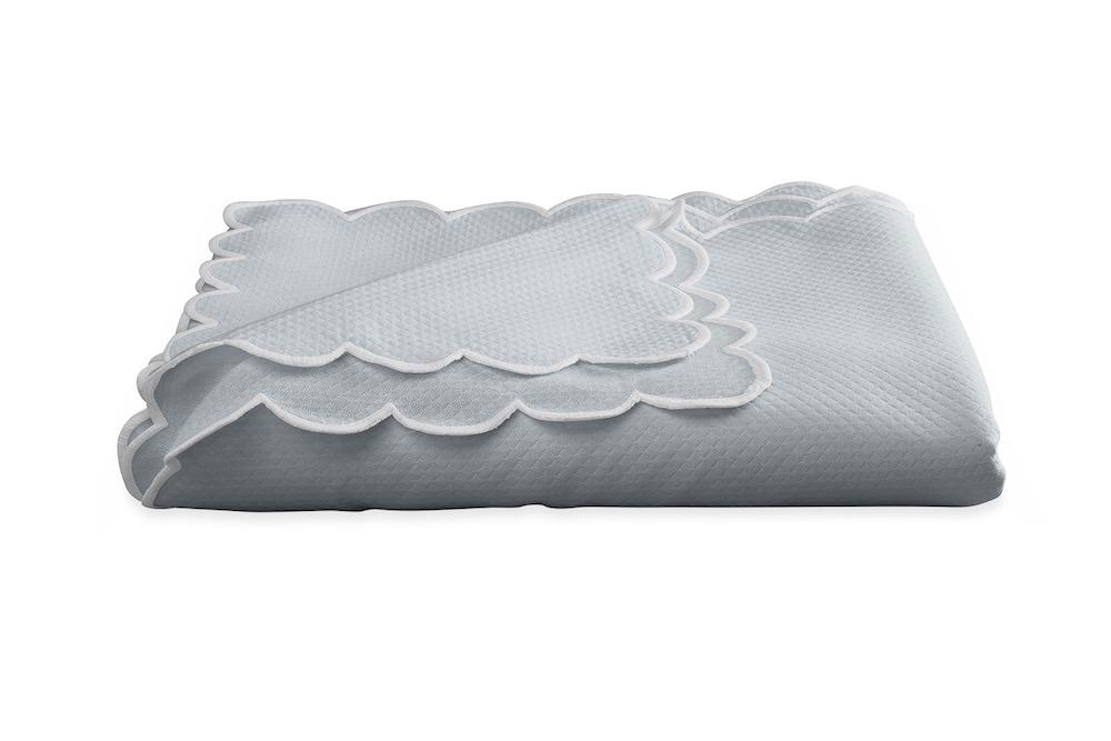 Savannah Gardens Oblong Pool Tablecloth | Matouk at Fig Linens