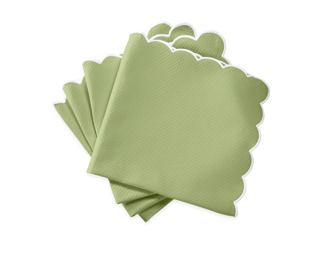 Matouk Savannah Gardens Napkins in Spring Green