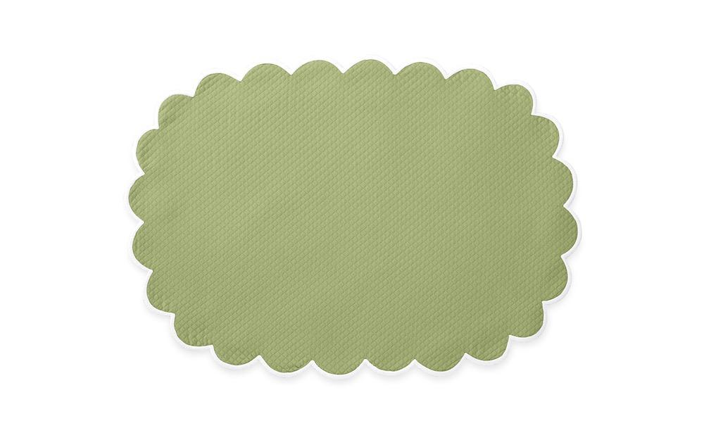 Matouk Savannah Gardens Placemats in Spring Green