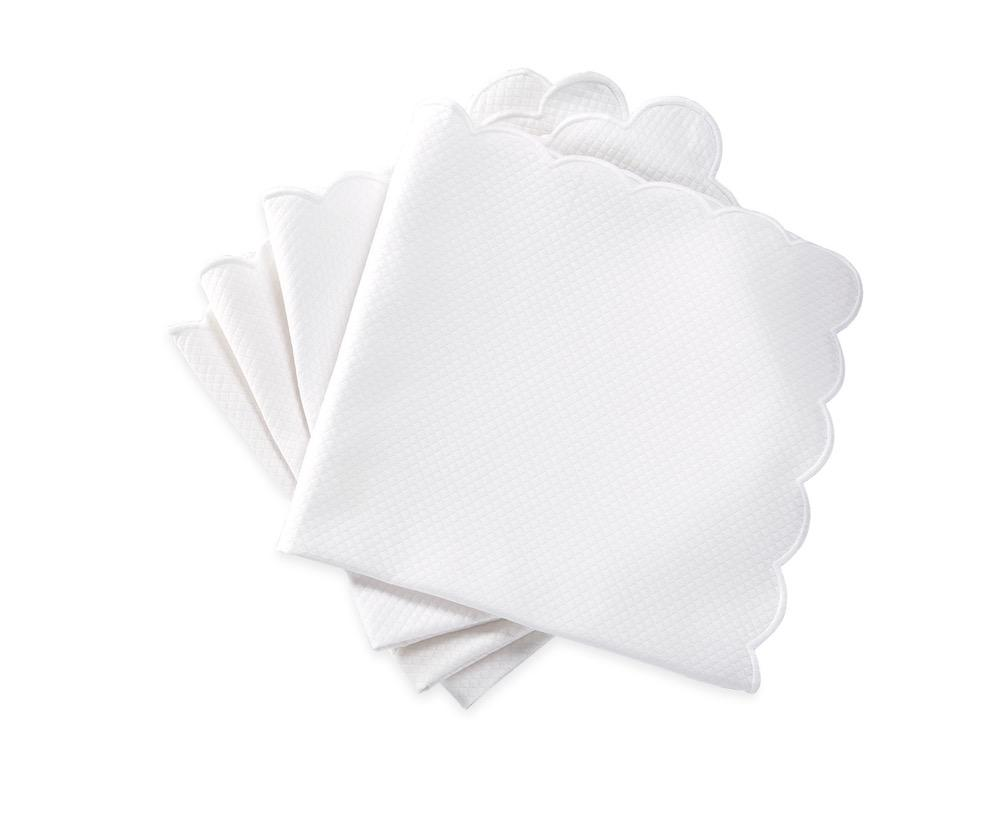 Matouk Savannah Gardens Napkins in White