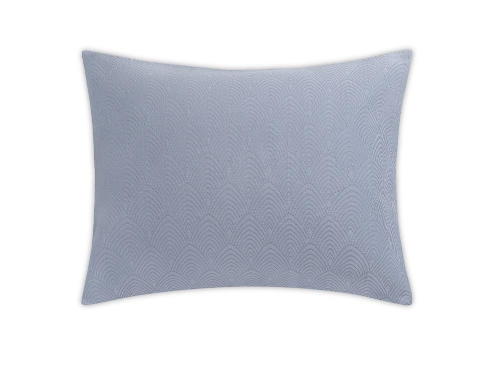 Brocatelle Blue Sham by Matouk Schumacher | Fig Linens