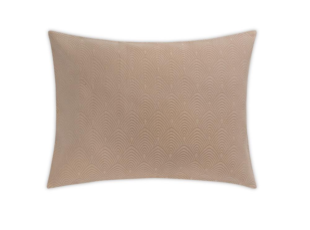 Brocatelle Khaki Sham by Matouk Schumacher | Fig Linens