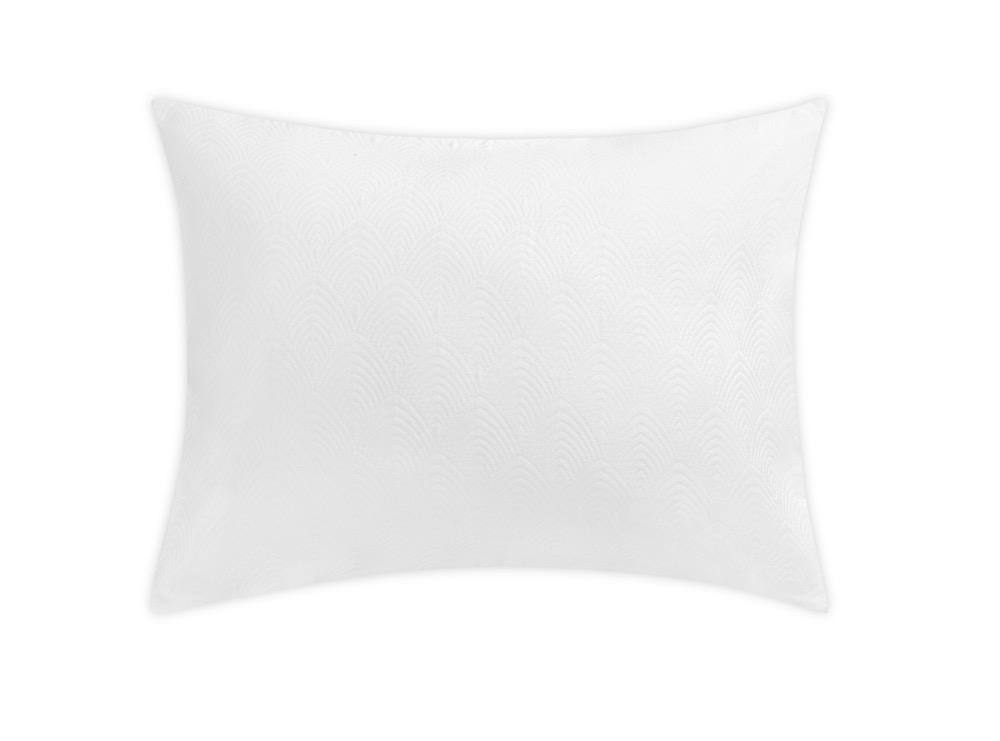 Brocatelle White Sham by Matouk Schumacher | Fig Linens