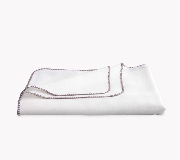 White and Fig Calypso Tablecloths by Matouk - Fig Linens and Home