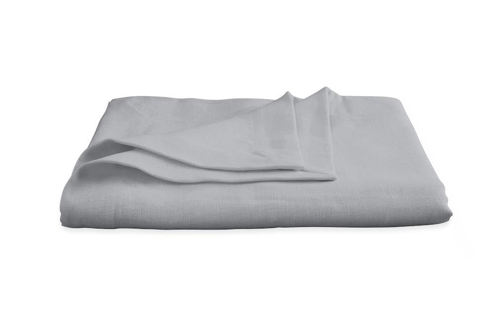 Chamant Silver Tablecloth | Matouk at Fig Linens