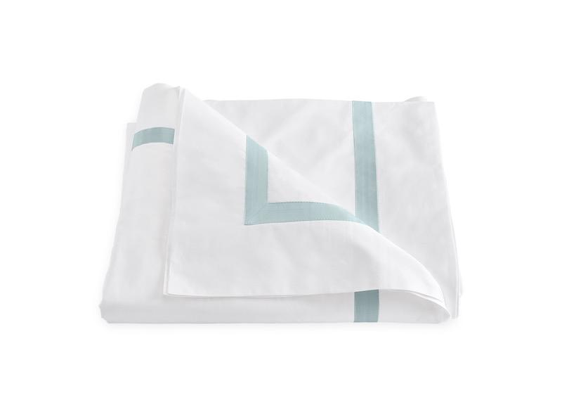 Matouk Lowell Pool Duvet Cover | Fig Linens