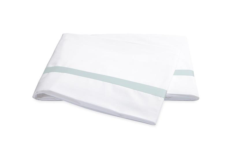 Matouk Lowell Pool Flat Sheet | Fig Linens