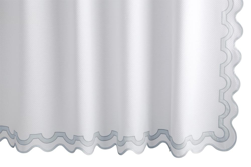 Mirasol Pool Shower Curtain | Matouk at Fig Linens