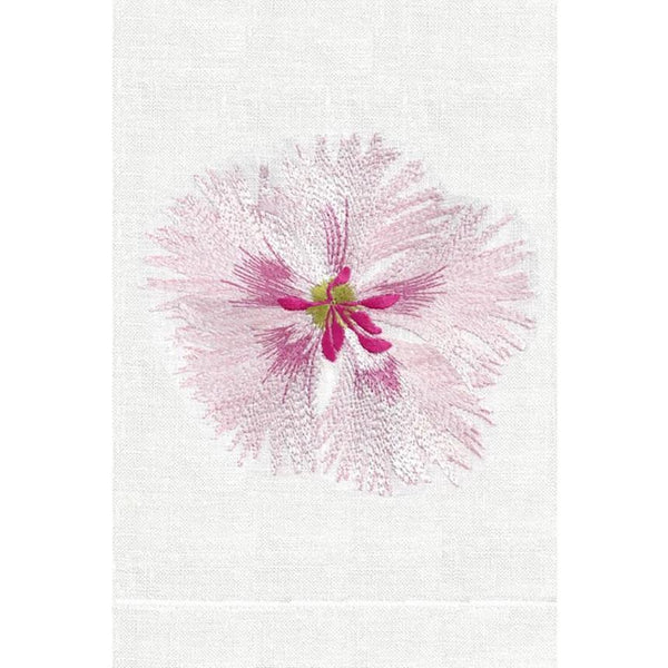 Pink Dianthus Linen Guest Towels| Fig Linens and Home