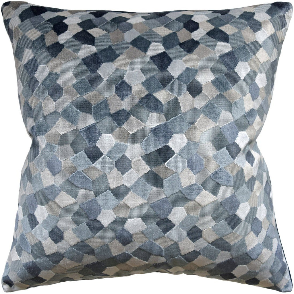 Modern Mosaic Harbor Pillow