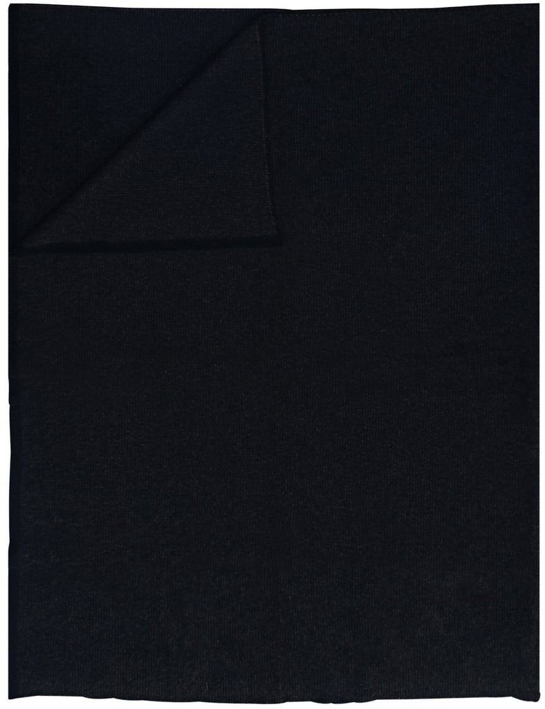 Moss Black Throw - Saved New York at Fig Linens
