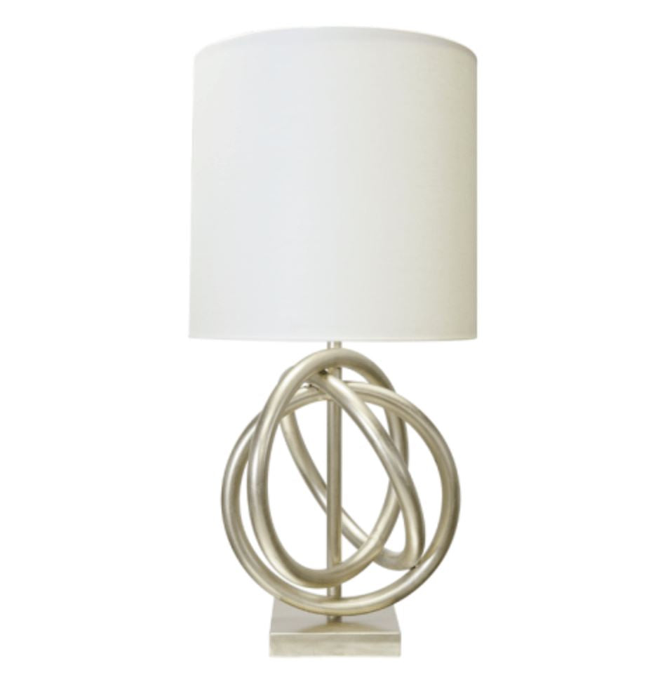 Nathan Silver Table Lamp | Fig Linens and Home