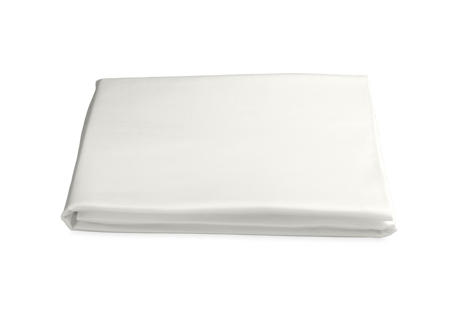 Milano Hemstitch Fitted Sheet in Bone | Matouk at Fig Linens