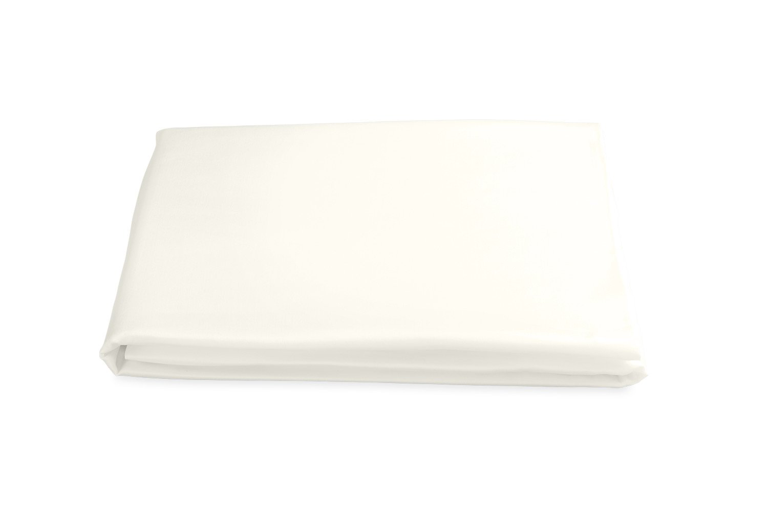 Milano Hemstitch Fitted Sheet in Ivory | Matouk at Fig Linens