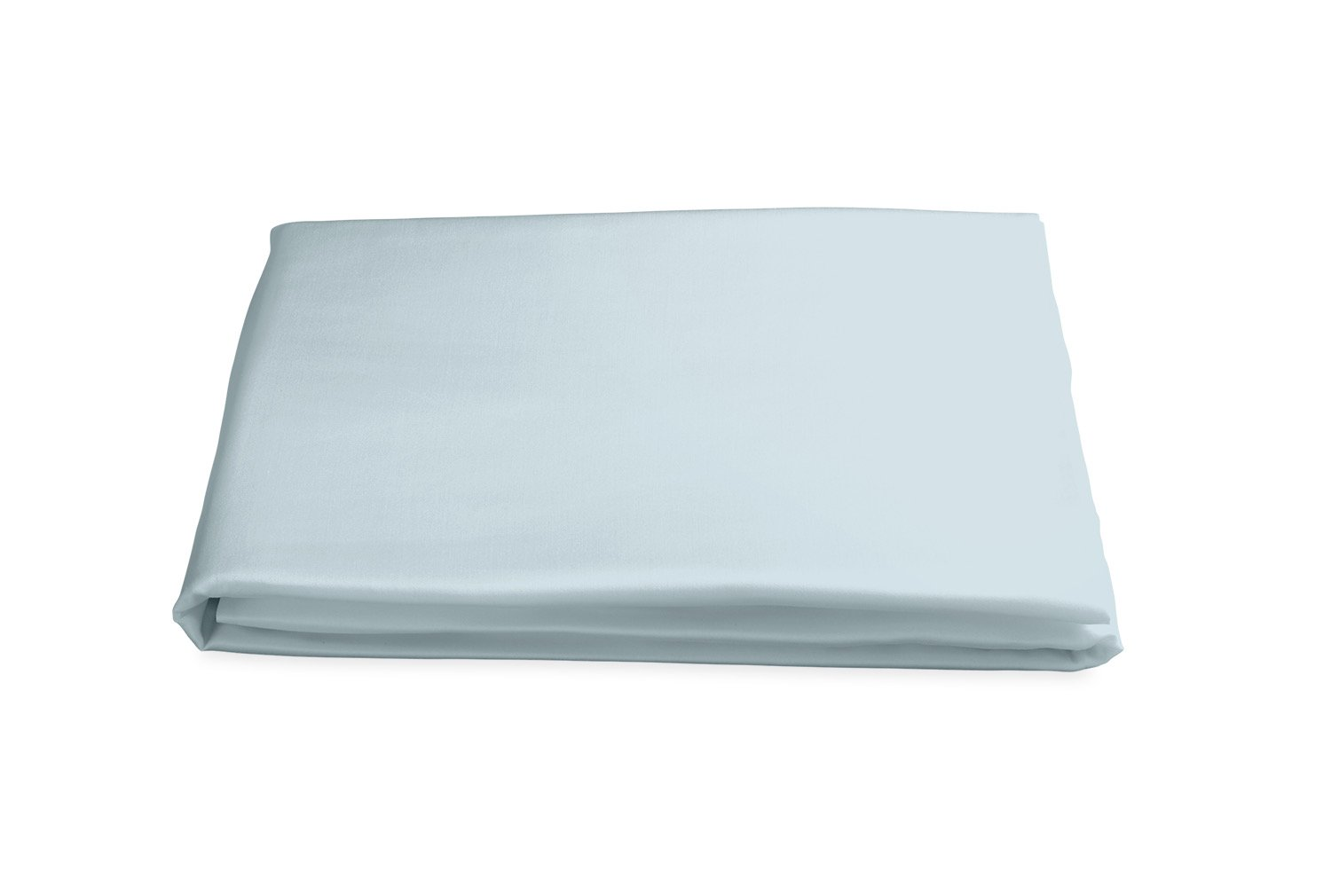 Milano Hemstitch Fitted Sheet in Pool | Matouk at Fig Linens