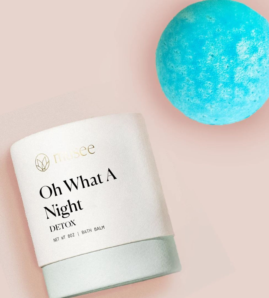 Oh What A Night Spearmint Bath Bomb by Musee | Fig Linens and Home