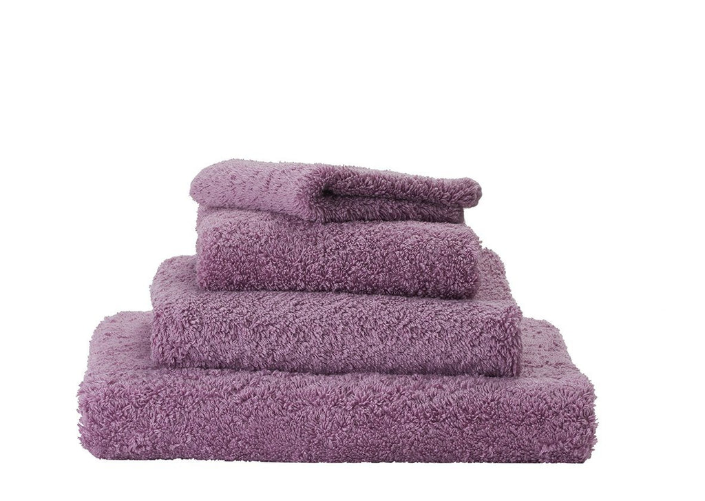 Set of Abyss Super Pile Towels in Orchid 440