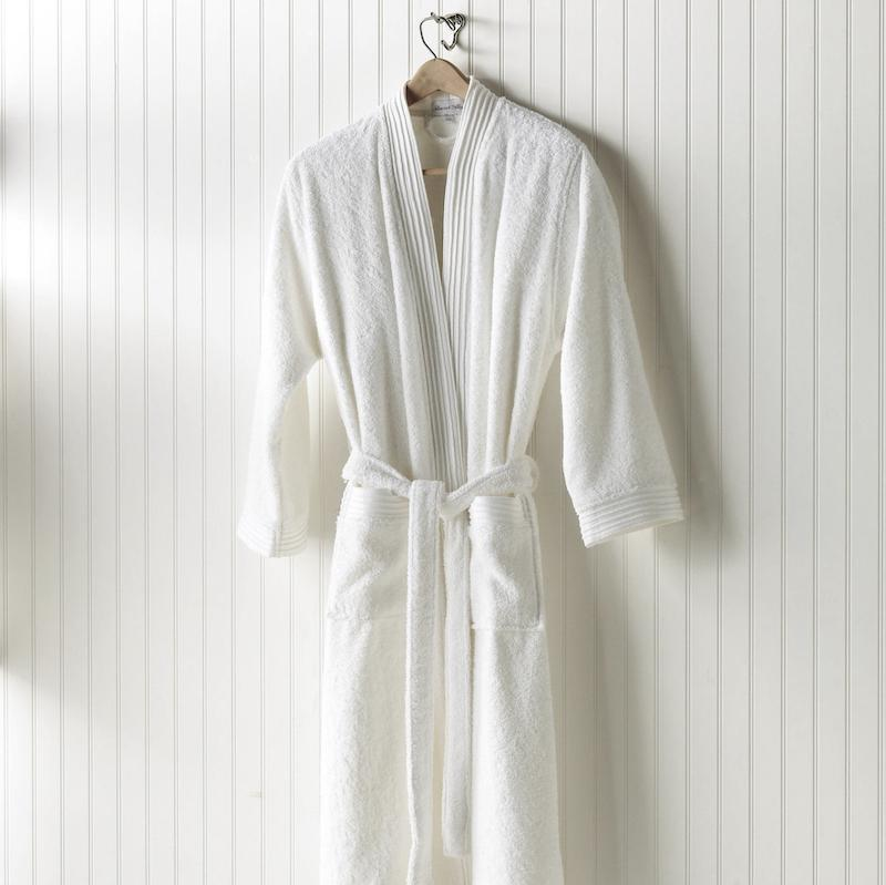 Peacock Alley Bamboo Spa Robe on Hanger