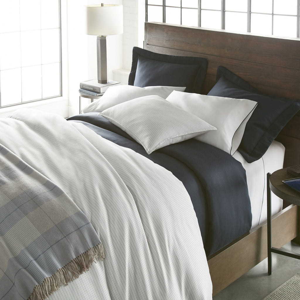 Maddox Plaid Duvets & Shams | Peacock Alley at Fig Linens