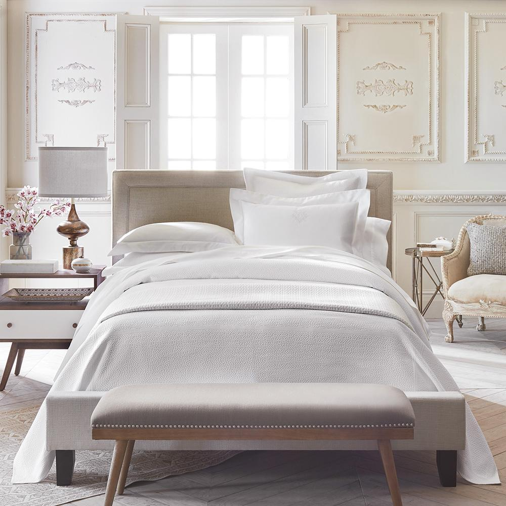Fig Linens - Peacock Alley Montauk Matelasse Bedding