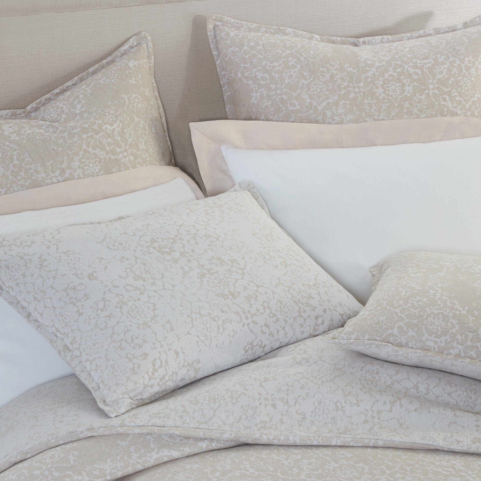 Avalon Platinum Bedding | Peacock Alley at Fig Linens