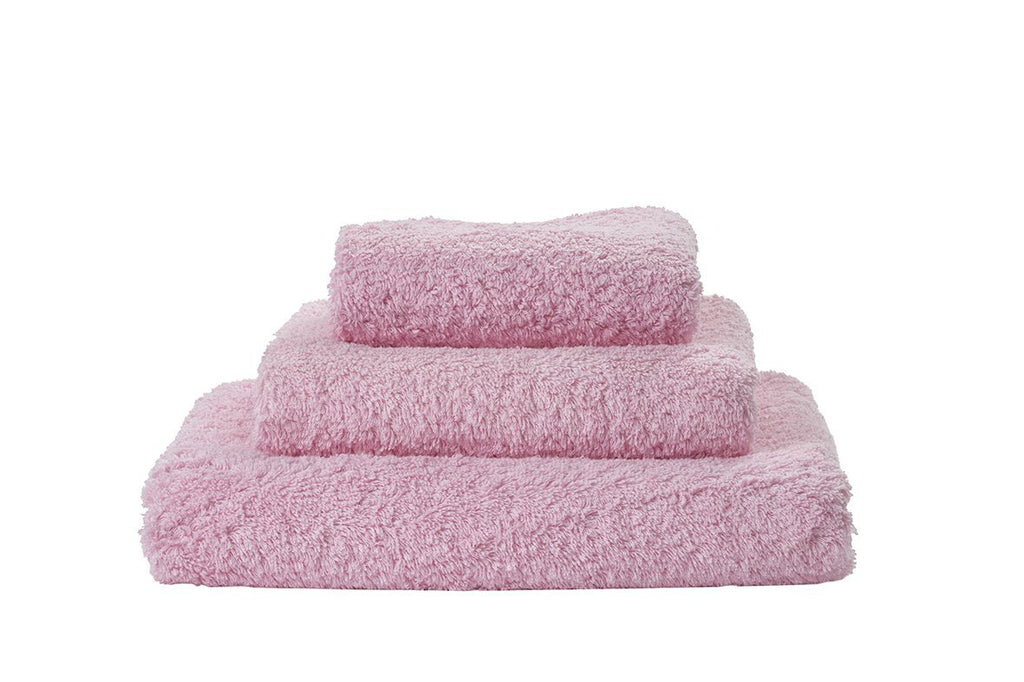 Set of Abyss Super Pile Towels in Pink Lady 501