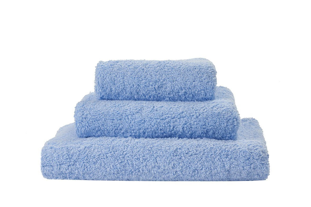 Set of Abyss Super Pile Towels in Powder Blue