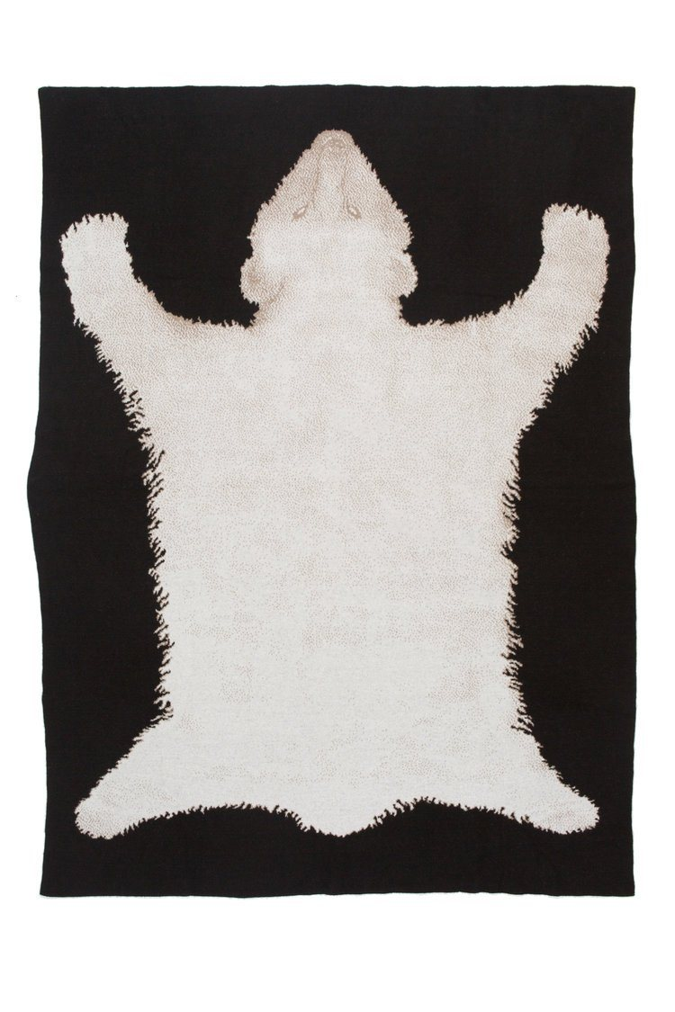 Polar Bear Throw - Cashmere Saved NY