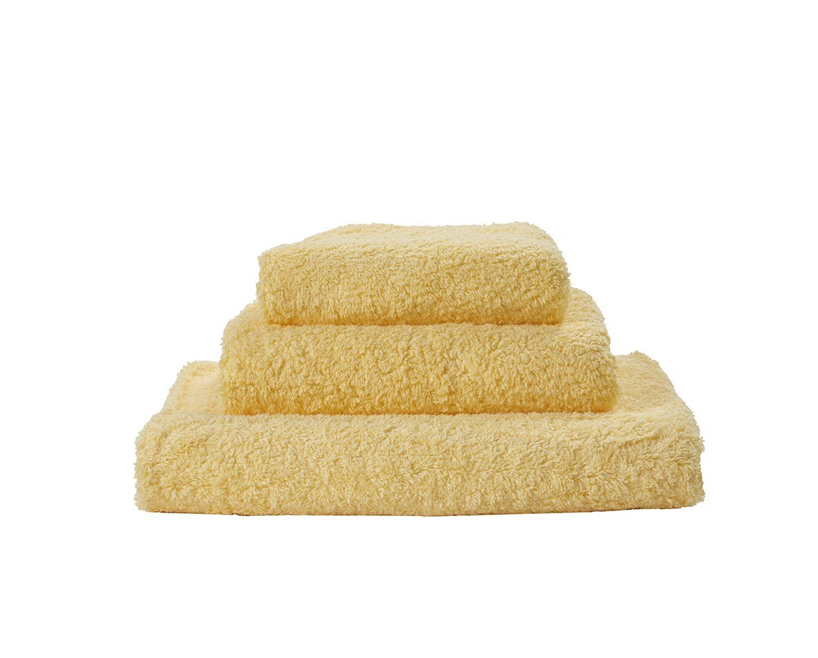 Set of Abyss Super Pile Towels in Popcorn