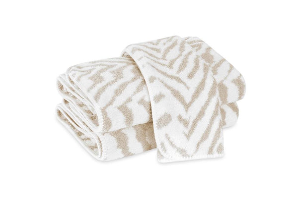Quincy Sand Bath Towels | Matouk Schumacher at Fig Linens