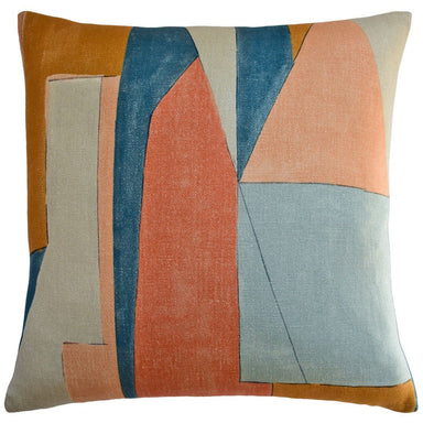 District Apricot Throw Pillow | Ryan Studio at Fig Linens