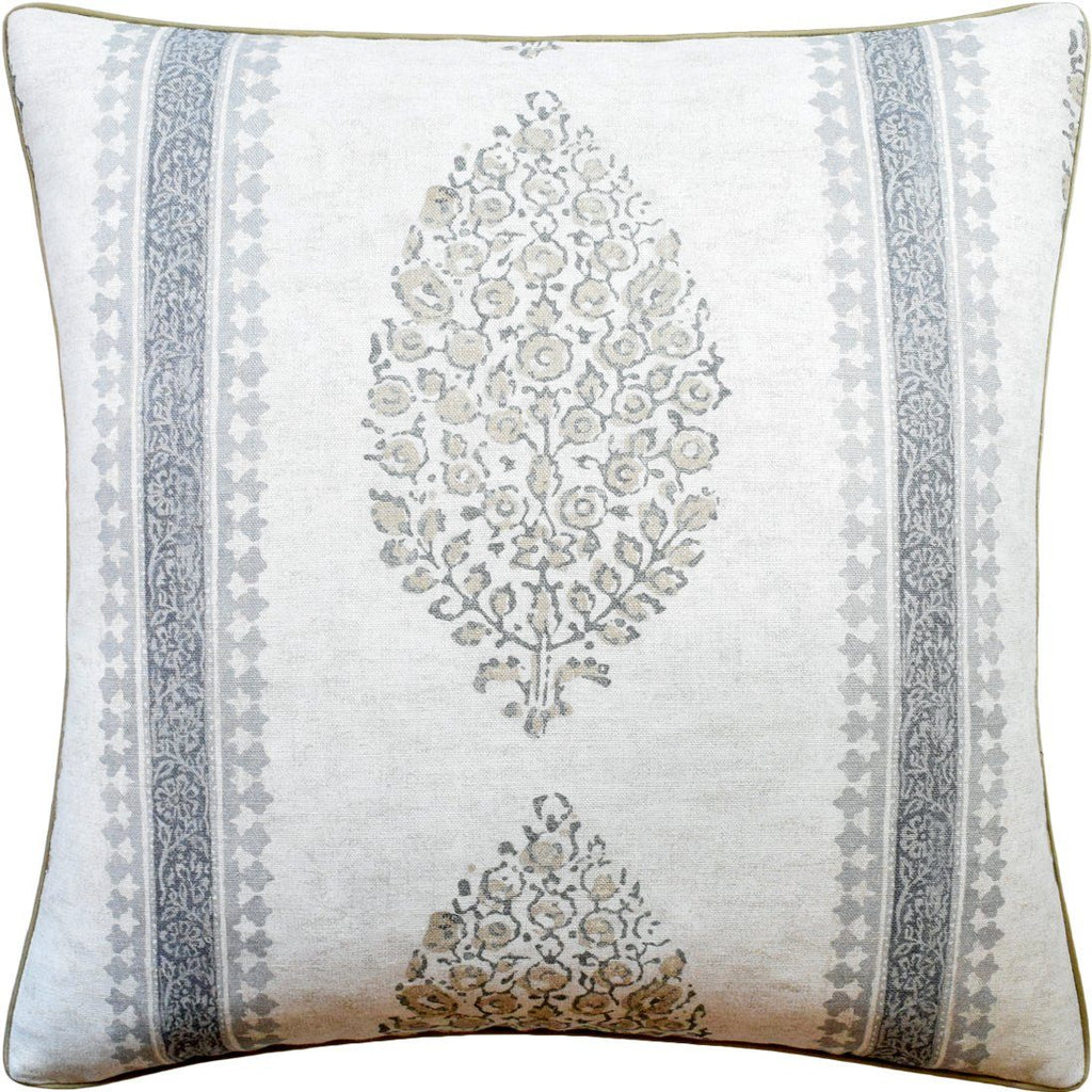 Chappana Grey Pillow by Ryan Studio at Fig Linens