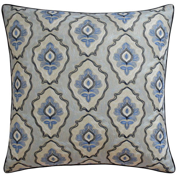 Ryan Studio Ancoats Denim Pillow - Fabricut at Fig Linens and Home