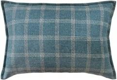 Bute Teal Wool Lumbar | Ryan Studio at Fig Linens