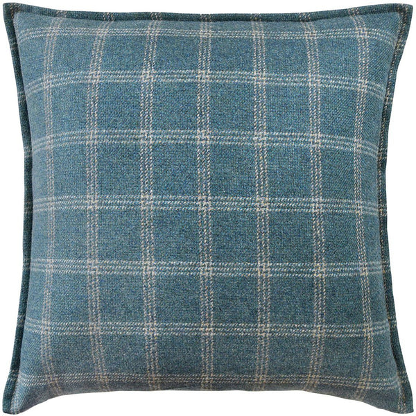 Bute Teal Wool Pillow | Ryan Studio at Fig Linens