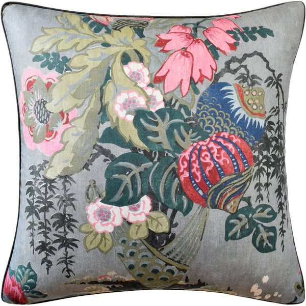 Fairbanks Grey Pillow by Ryan Studio | Fig Linens and Home