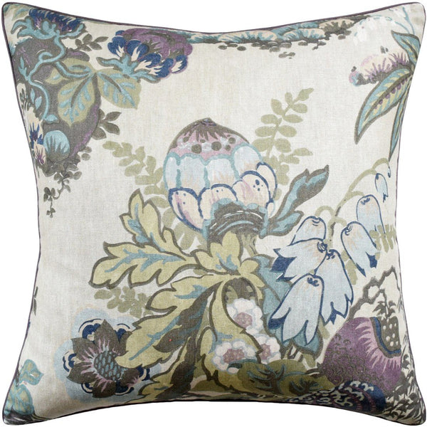 Fairbanks Plum Pillow by Ryan Studio
