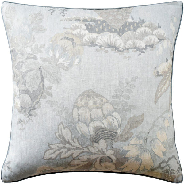 Fairbanks Spa Blue Pillow by Ryan Studio | Fig Linens and Home