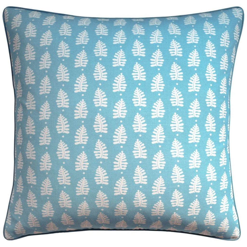 Ferndale Turquoise Decorative Pillow | Ryan Studio at Fig Linens
