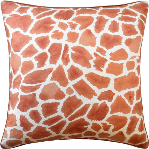 Makena Cinnamon Decorative Pillow | Ryan Studio at Fig Linens