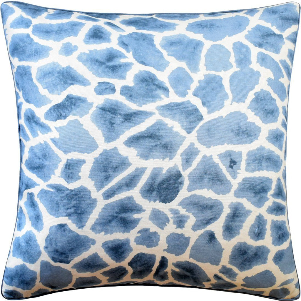 Ryan Studio Makena Slate Blue Decorative Pillow | Fig Linens and Home