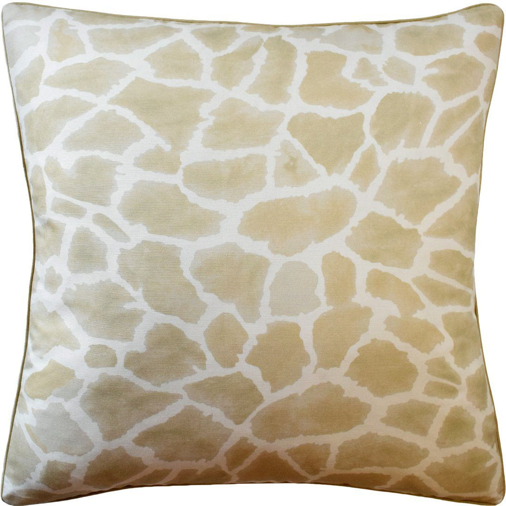 Makena Wheat Decorative Pillow | Ryan Studio at Fig Linens and Home