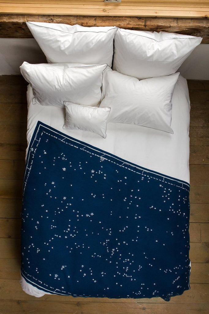 Saved NY Constellation Throw on Bed