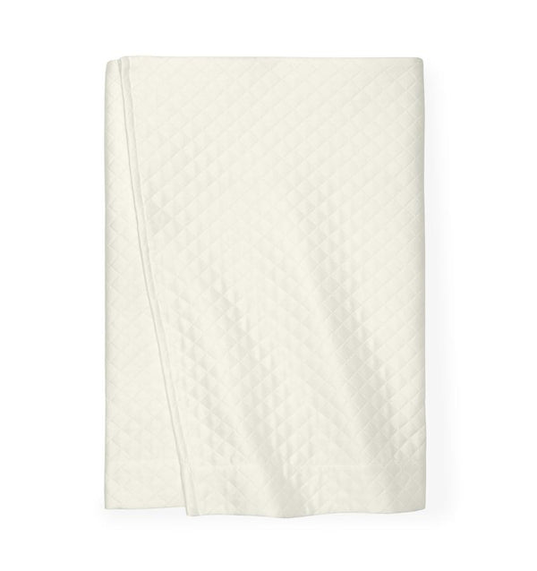 Bari Ivory Bed Skirt by Sferra | Fig Fine Linens and Home