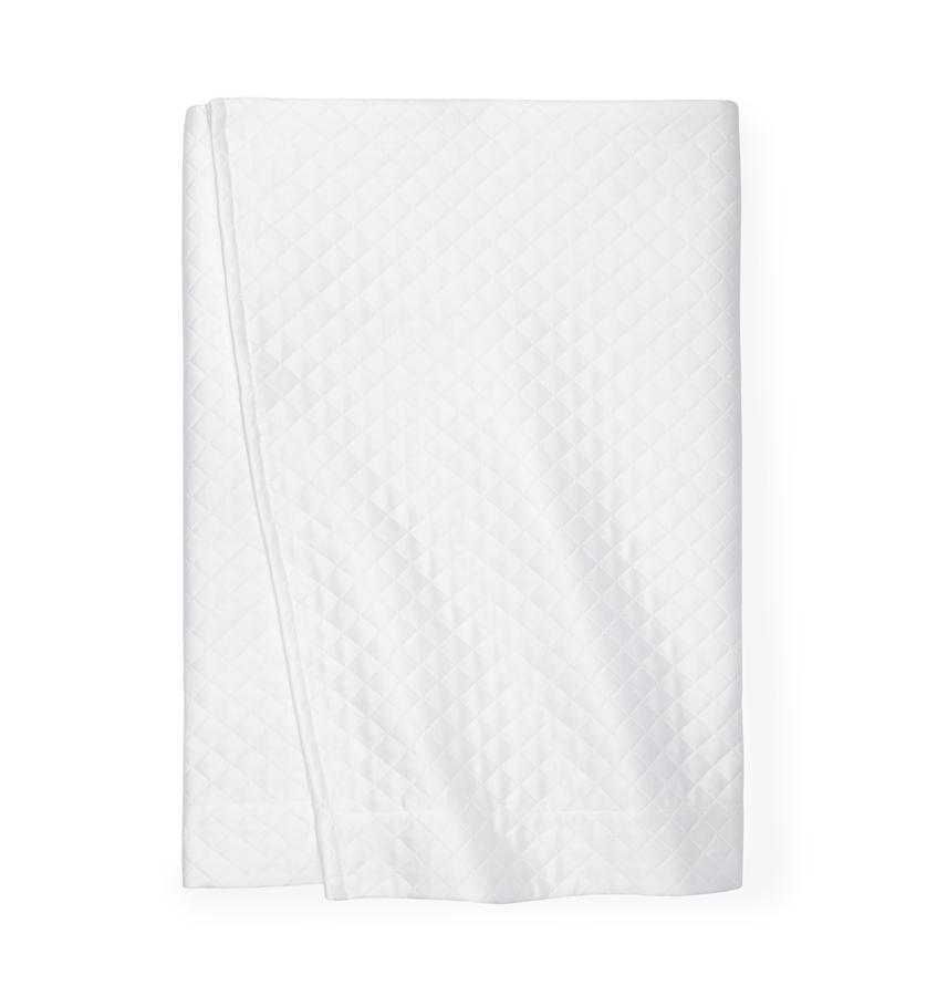 Bari White Bed Skirt by Sferra | Fig Fine Linens and Home