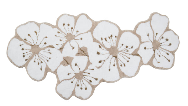 sakura bath rug - habidecor - abyss - fig linens