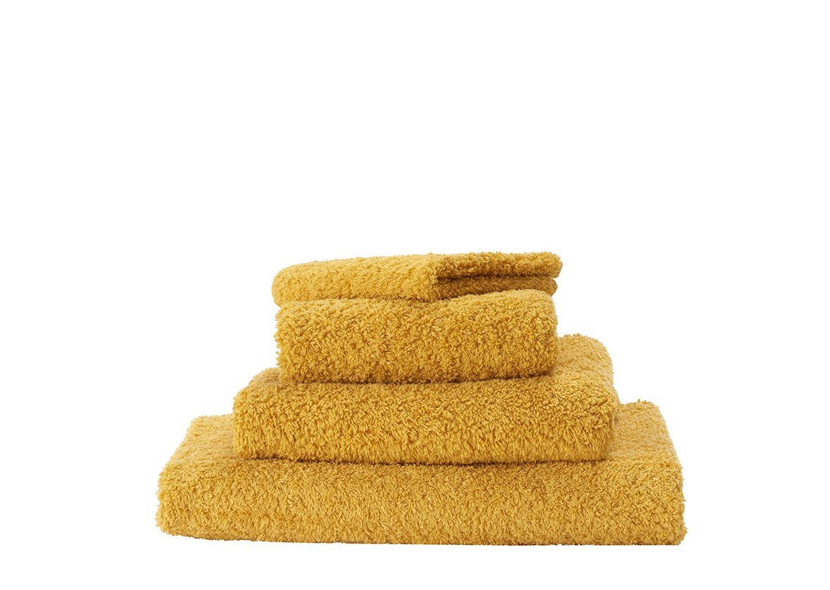 Set of Abyss Super Pile Towels in Safran 850